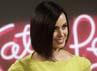 Mantan istri Russell Brand itu berpose saat menghadiri premiere Katy Perry: Part of Me di Rio de Janeiro, Senin (30/7/2012). Reuters/Ricardo Moraes.