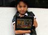 Anak sulung dari pernikahan  Pasha dan Okie Agustina itu  mengungkapkan dirinya bermain  iPad untuk mengisi waktu  luangnya di lokasi syuting.
