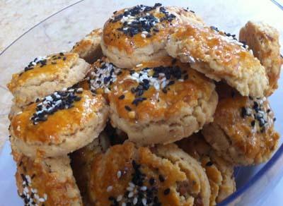 Resep Kue : Emping Melinjo Cookies
