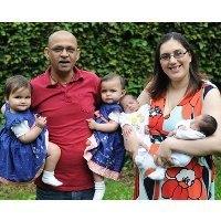 Ibu Hebat! 2 Kali Melahirkan 2 Pasang Anak Kembar dalam Setahun