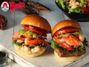 Wendys Jepang Kini Sajikan Lobster and Caviar Burger