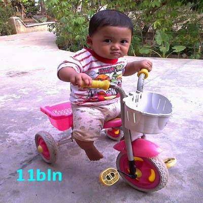 Nawwaf Tsaqib Budaintoro, 11 Bulan, Lelaki