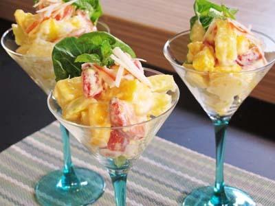 Resep Salad: Salad Buah Keju