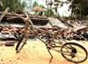 Dalam kerusuhan ini 35 rumah warga hangus terbakar. (Bayu Murti/detikSurabaya).