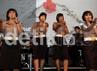 Zebra Cross Band yang malam itu tampil 8 orang membawakan lagu Cherrybelle yang berjudul Youre Beautiful.
