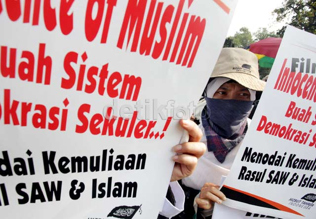 Innocence of Muslims Picu Demonstrasi di Jakarta