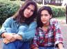 Ahmad Dhani dan Maia Estianti terlihat masih sangat muda di dalam foto ini. (dok. detikforum)