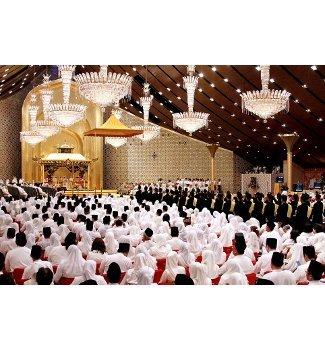 Suasana Royal Wedding ala Putri Sultan Brunei 5