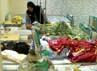Ruang rawat inap khusus pasien wanita di BPHI Daker Madinah mulai menerima banyak jamaah yang sakit.