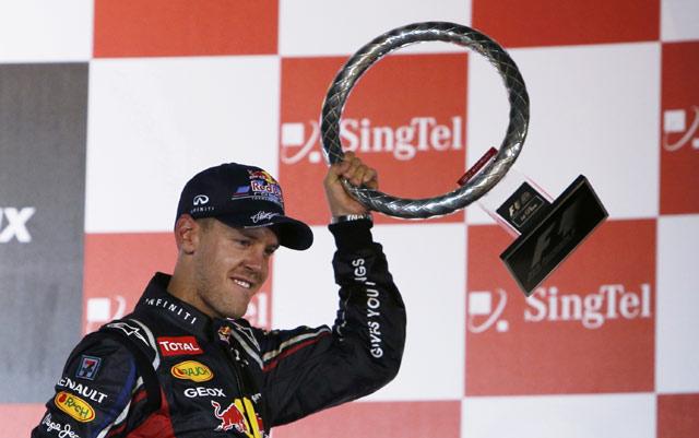 Bertarung 2 Jam, Vettel Juara