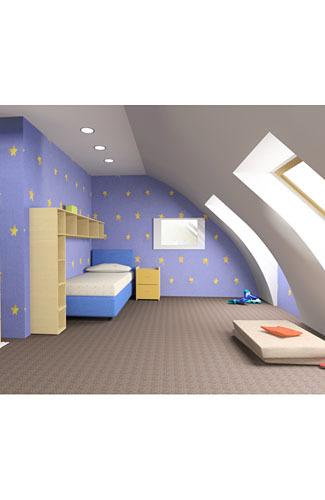 7 Pilihan Warna Cat Dinding Untuk Hias Kamar Anak  4