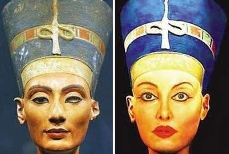 Demi Secantik Ratu Mesir Nefertiti, Wanita Ini 51 Kali Operasi Plastik