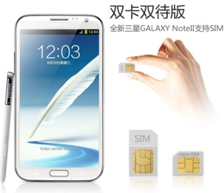 Samsung Resmikan Galaxy Note II Dual SIM