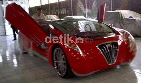 Dahlan Iskan: Ferrari Made In Jogja Diberi Nama Tucuxi