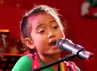 Berbagai nyanyian dipersembahkan dalam acara tersebut.