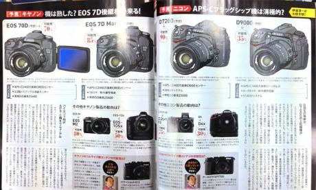 Prediksi Kamera Anyar Canon & Nikon di 2013