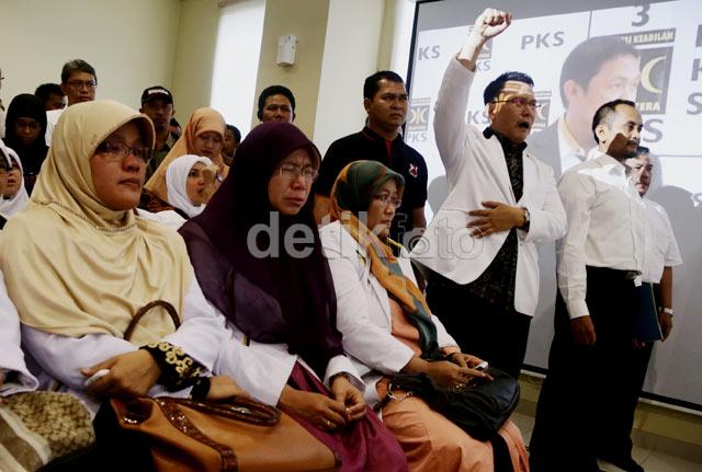 Anis Sampaikan Pidato, Kader PKS Menangis