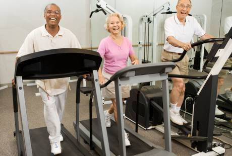 Orang Paruh Baya yang Aktif Nge-gym Dijamin Susah Pikun