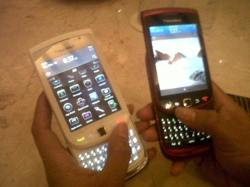 Apa Penyebab Munculnya Jam Pasir di BlackBerry?