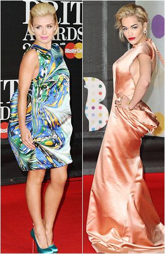 8 Penampilan Selebriti yang Terlihat Kacau di Brit Awards 2013 1