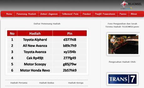 Situs Undian Palsu Beredar, Telkomsel Ingatkan Pelanggan