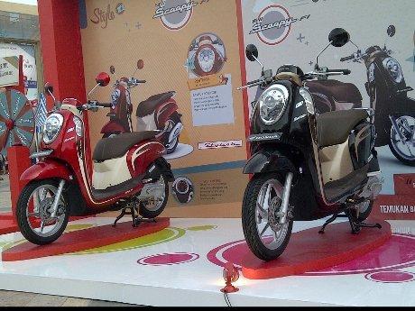 Scoopy Jadi Primadona Honda di Jakarta-Tangerang