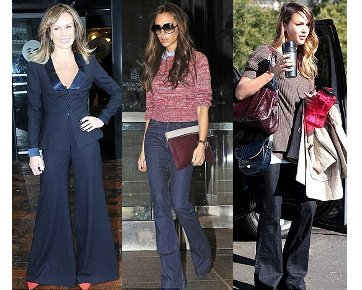 Trend Alert! Selebriti Populerkan Kembali Celana Cutbray di 2013