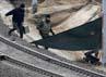 Operator perusahaan kereta Deutsche Bahn menyatakan 50 jadwal perjalanan kereta api menjadi dialihkan selama satu jam gara-gara peristiwa itu. REUTERS/Tobias Schwarz.