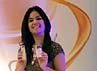 Annisa Pohan saat ditemui di acara Olay Total Effects di Mandarin Oriental Hotel, Jakarta Selatan, Rabu (3/4/2013).