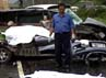 Kecelakaan tersebut terjadi di KM 135+700 Tol Cipularang pukul 12.40 WIB. Dua kendaraan tersebut kini sudah dibawa ke Unit Laka Ditlantas Polda Jabar. Erna Mardiana/detikfoto