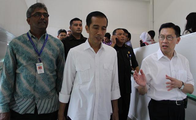 Jokowi Tinjau RSU Siloam