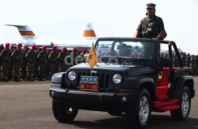 Panglima TNI Buka Latgab TNI 2013