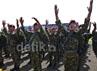 Latihan gabungan ini akan diikuti oleh 16.745 prajurit dari TNI AU, AD, dan AL.