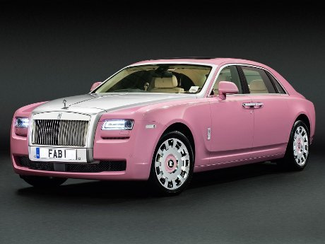 Apa Jadinya Kalau Rolls-Royce Berwarna Pink?