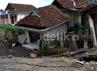 Kerusakan terparah berada di RT 02 dan RT 06. Tanah pergeseran mulai 50 cm, 1,6 m hingga 18 meter. Kristiadi/detikcom.
