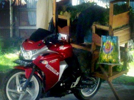 Tukang Sayur Kaya Pakai Motor CBR250R, Apa Tanggapan Honda?