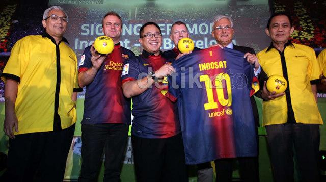 Indosat Mau Bawa Lionel Messi ke Indonesia