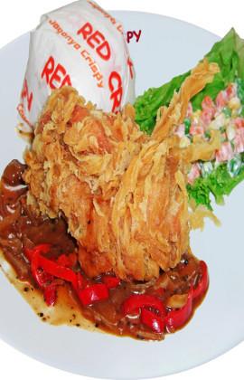 Gerai Fried Chicken Lokal Tidak Kalah Lezat dengan Resto Berjaringan Global