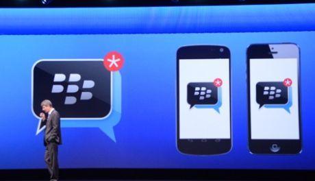 BlackBerry Boyong BBM ke iOS & Android
