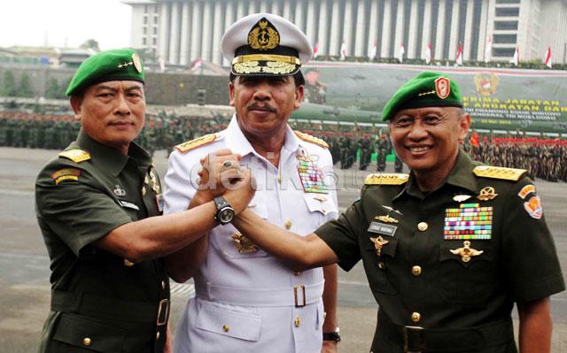 Letjen Moeldoko Resmi Pegang Komando TNI AD