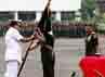 Letjen Moeldoko resmi menerima tampuk kepemimpinan AD dari Jenderal Pramono Edhie Wibowo.