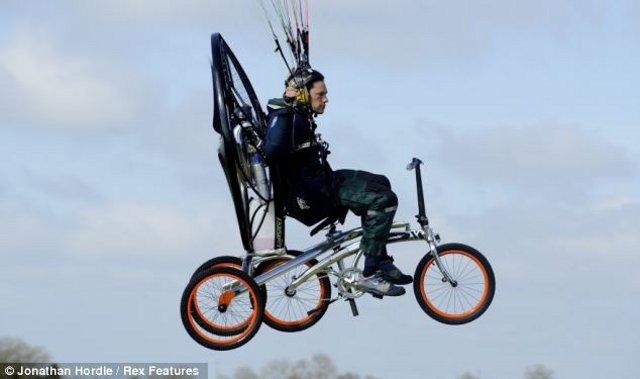 Sepeda Terbang Canggih Siap Mengangkasa  - 5