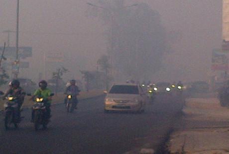 Kasus ISPA Akibat Kabut Asap Riau Meningkat, Tapi Masih Terkendali