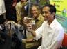 Dalam kingjungan itu, Jokowi turut didampingi Ketua DPRD DKI, Ferrial Sofyan.