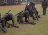 Belasan mortir ditembakkan.