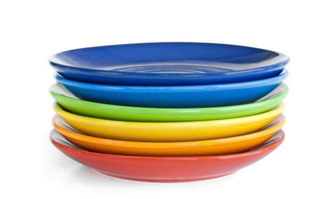 Warna dan Gambar Piring Makan Ternyata Bikin Nafsu Makan Bertambah