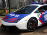 Lamborghini Gallardo LP 570-4 Superleggera 2012 juga dilengkapi sirine. Gusmun/detikFoto.