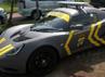 Mobil Lotus Elise tak kalah menarik dengan Lamborghini Gallardo LP 570-4 Superleggera 2012. Mobil itu dibalut stiker abu-abu dan kuning lengkap dengan tulisan Polres Metro Jakarta Utara. Gusmun/detikFoto.