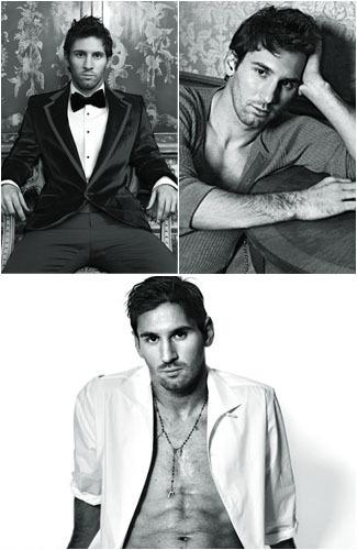 Foto: Aksi Lionel Messi Saat Jadi Model Buku Dolce & Gabbana 1