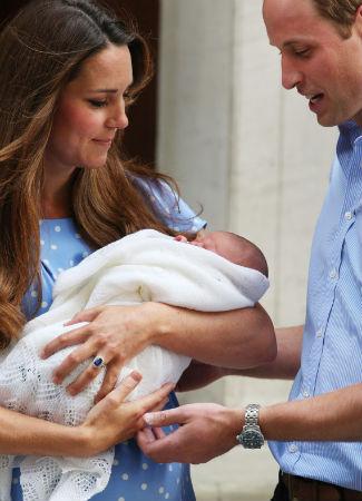 Foto-foto Bayi Laki-laki Kate Middleton dan Pangeran William 1